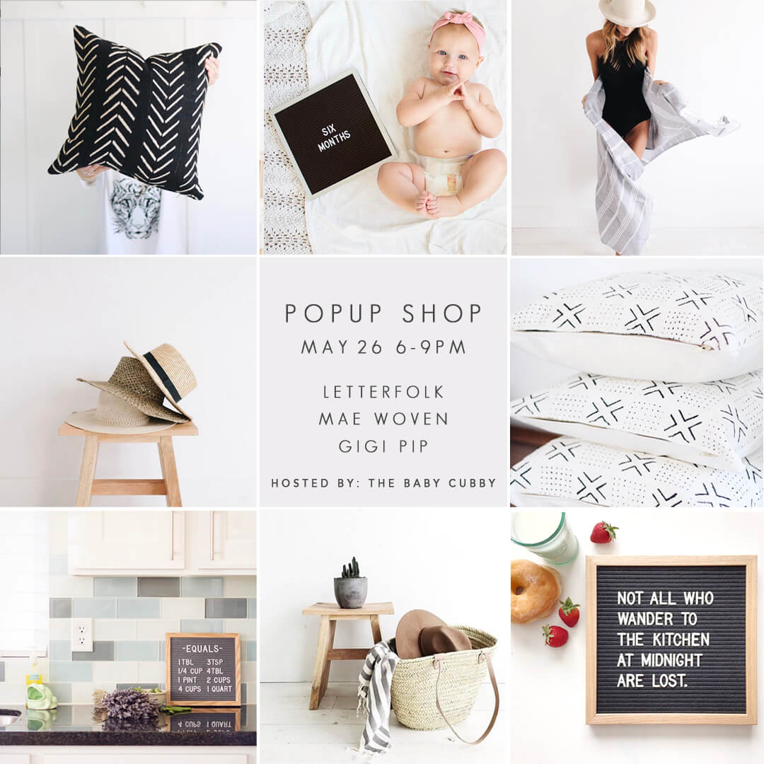 Baby Cubby Popup Shop